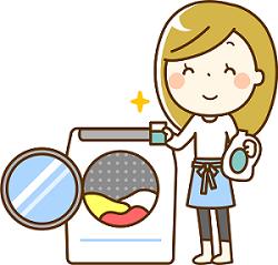 洗濯機イラスト1