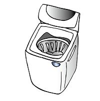 洗濯機イラスト2