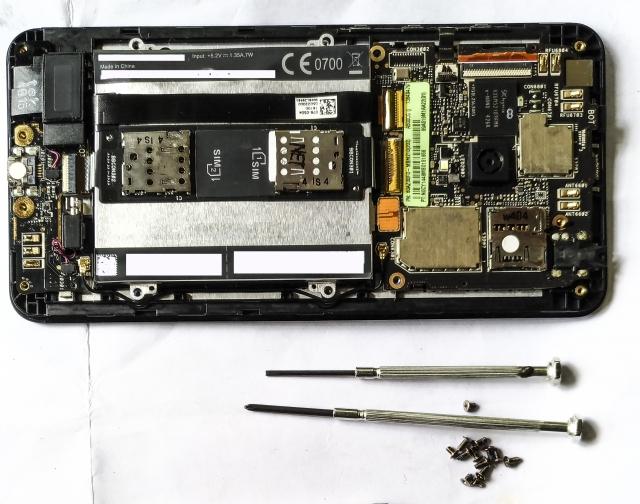 Xperiaの基板修理は無理?