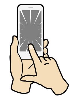 Xperiaの液晶修理完了