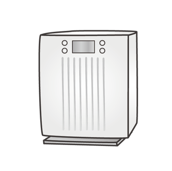 気化式加湿器イメージ