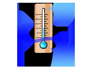 気化式は室内温度に影響が無い