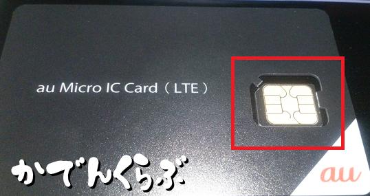 mineoのSIMカード